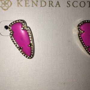 Kendra Scott Jewelry - Pink Kendra Scott Skylette Stud earrings